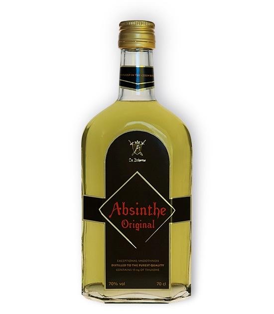 Full size bottle of La Boheme Absinthe Original - Real Absinthe since 1999